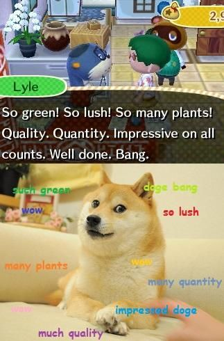 #AnimalCrossing Dog fun via Reddit user yoship