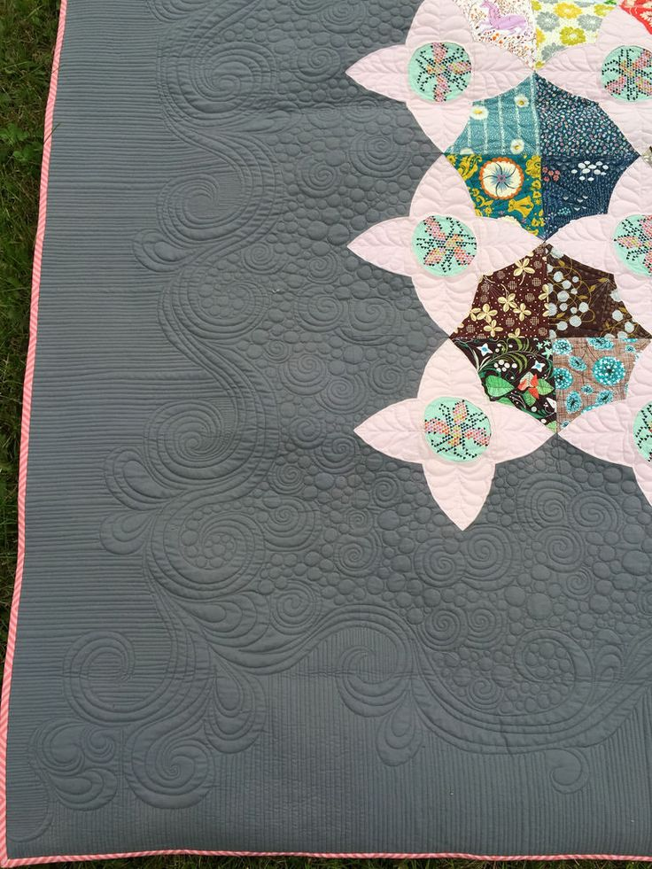 326 best images about quilting negative space on pinterest for Space quilt pattern