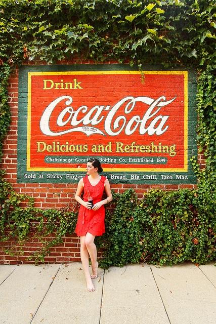 Chattanooga, TN, Coke mural
