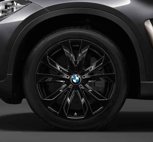 Bmw X6 Xdrive50i: BMW X6 (F16), XDrive50i, Light-alloy Wheel Star-spoke 491
