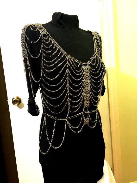 Body Chains Top Dress Body Jewelry Top Dress Tank Top
