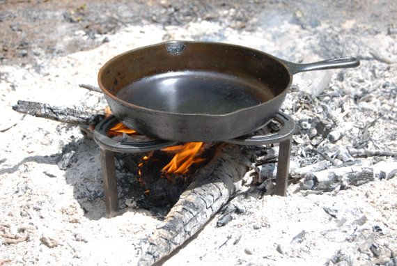 Fire pit insert cooking camp fire ring outdoor cast for How to cook in a dutch oven over a campfire