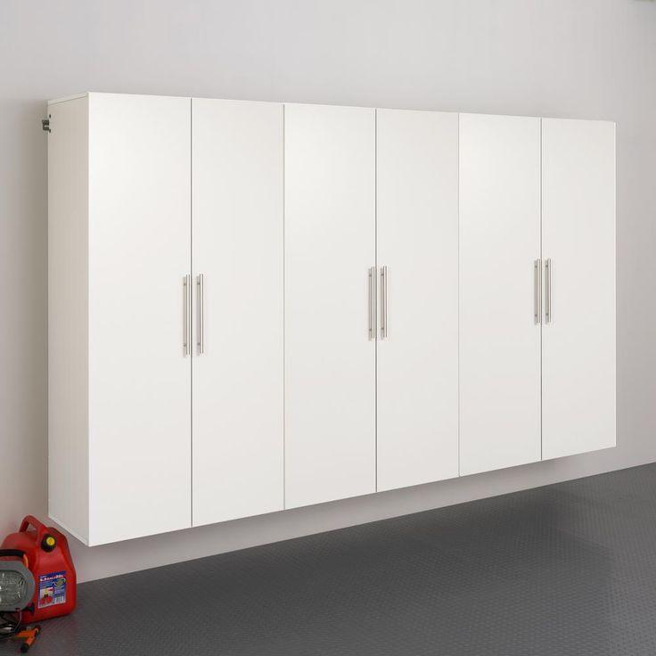 Best Prepac Hangups 72 In H X 108 In W X 20 In D White Wall 400 x 300