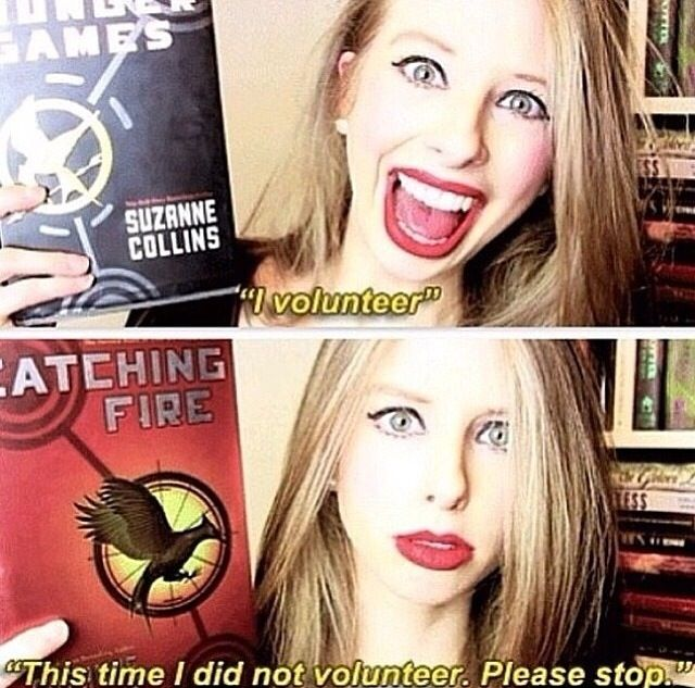 Summary of the first two Hunger Games books.