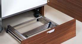 keukentrap in onderste lade voor kasten tot aan plafond