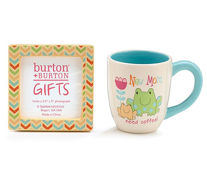 Say congrats to a New Mom + give her a gift she will remember! #burtonandburton