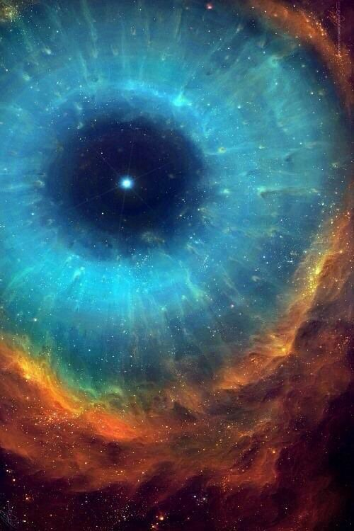 The eye of cosmos