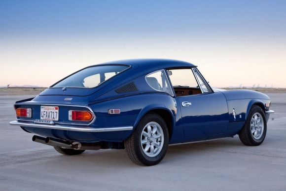 Highly Detailed Driver: 1972 Triumph GT6