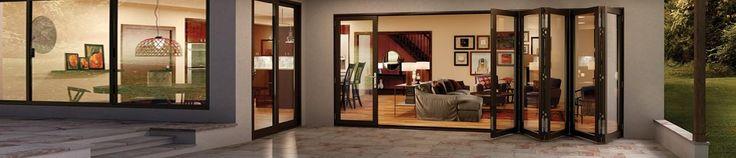 Bi-Fold Glass Walls - Moving Glass Wall Systems   Milgard Windows & Doors