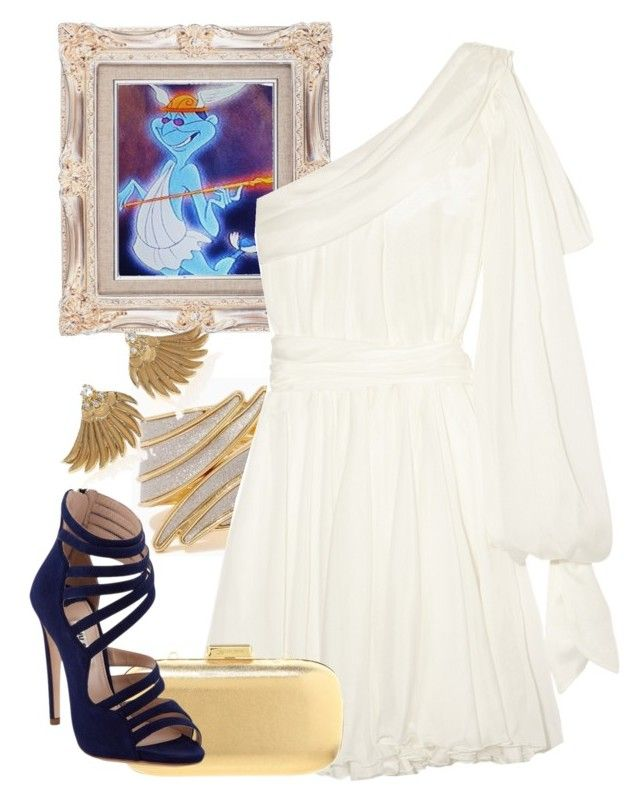 """Day 113: Hermes (Hercules)"" by onceuponascreen ❤ liked on Polyvore featuring Faith Connexion, MICHAEL Michael Kors, Miu Miu and mizuki"