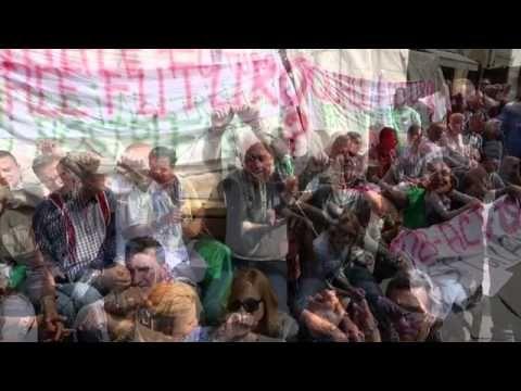 Mercato di San Lorenzo, protesta