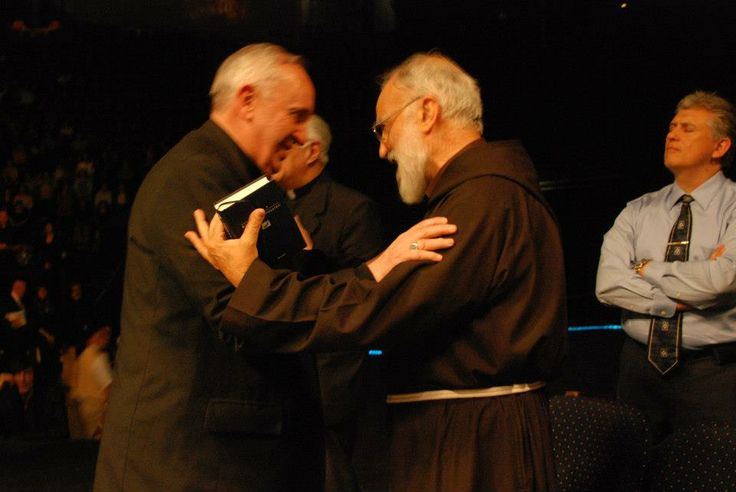 Image result for raniero cantalamessa pope francis