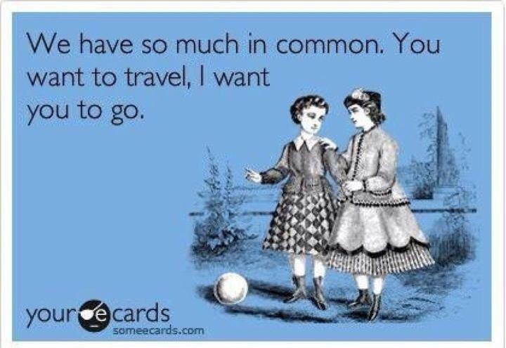 Musings of a Mendicant #travel #humor