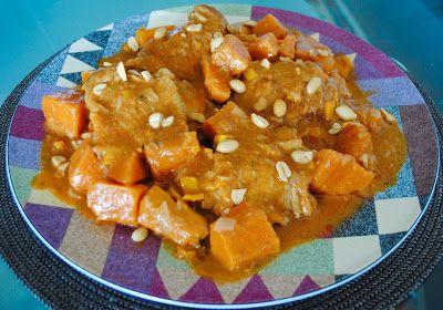 Невыразимая легкость кулинарного бытия...: Африканская курица с арахисом