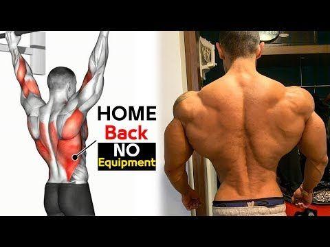 Ejercicios De Sspalda En Casa Sin Pesas Youtube Back And Bicep Workout Big Back Workout Good Back Workouts