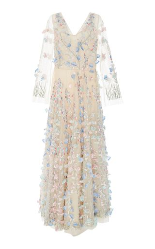 a8a243dbb771e Shop Embroidered Floral And Pearl-Embellished Silk-Tulle Gown. If you re  looking for something extravagant to wear to your next event
