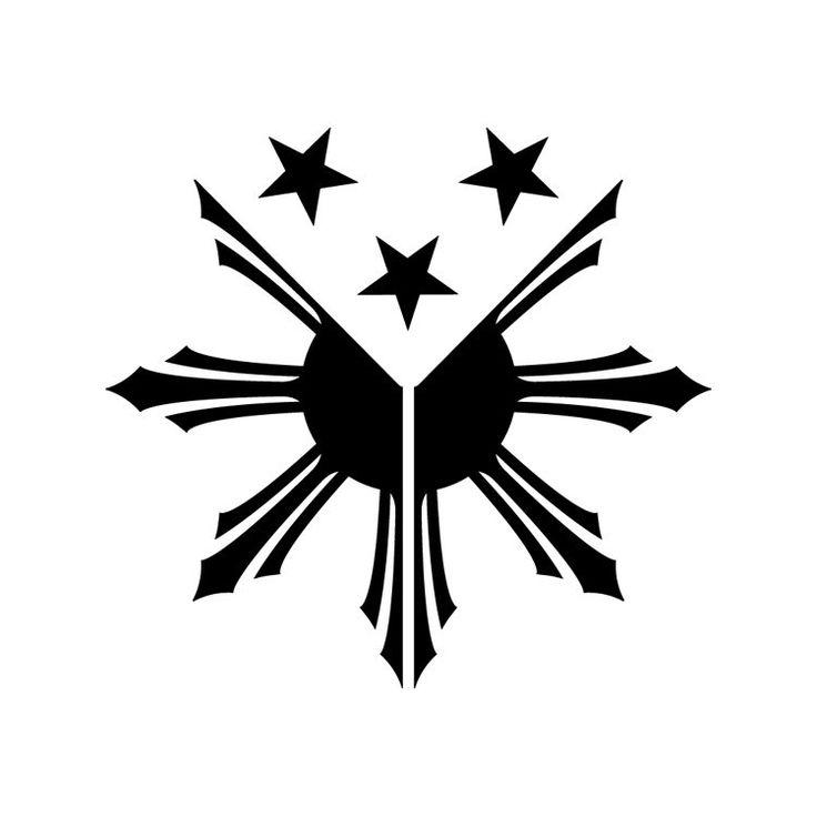 Philippinen Flagge Sun Sternen philippinischen von BVStickers