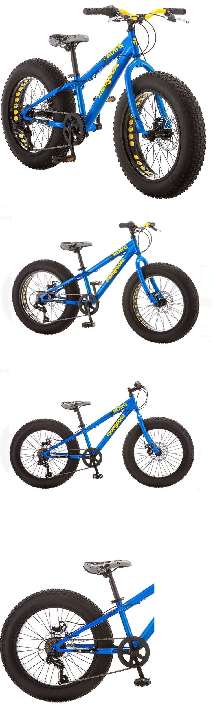 Other Cycling 2904: Mongoose Bike 20 Inch Boys Fat Tire Bikes Kong 7-Speed Boy Mountain Bicycles -> BUY IT NOW ONLY: $241.99 on eBay!