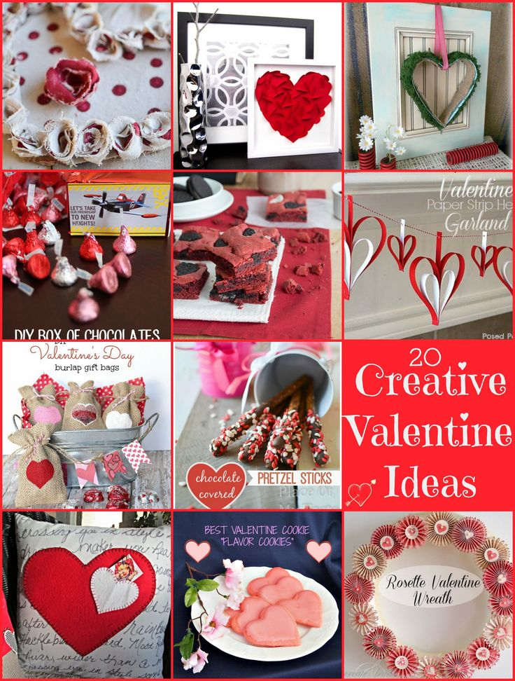 20 Creative Valentine's Day Ideas