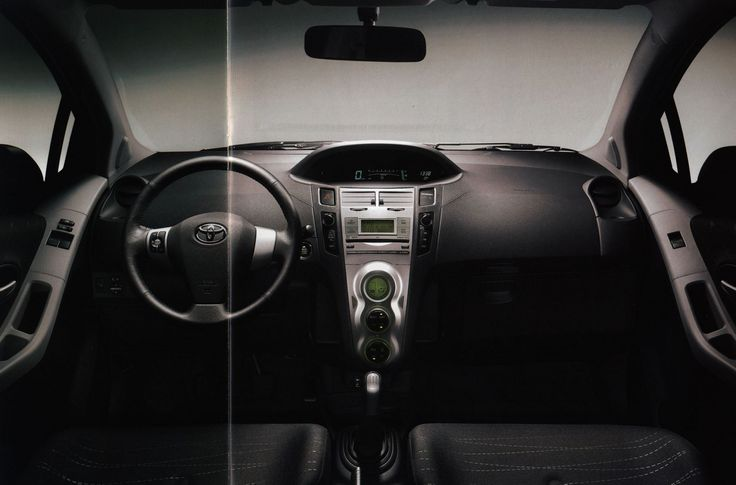 https://flic.kr/p/FbQc35 | Toyota Yaris interior, Az új; 2006_3 | auto car brochure | by worldtravellib World Travel library