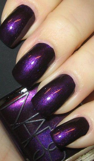 Nars nail polish in Purple Rain ... I love this color!