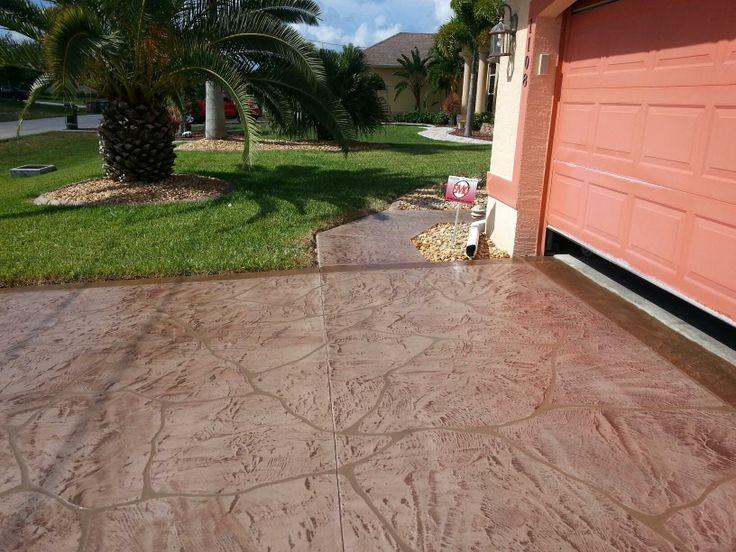 43 best images about decorative concrete driveway on for Base for concrete driveway