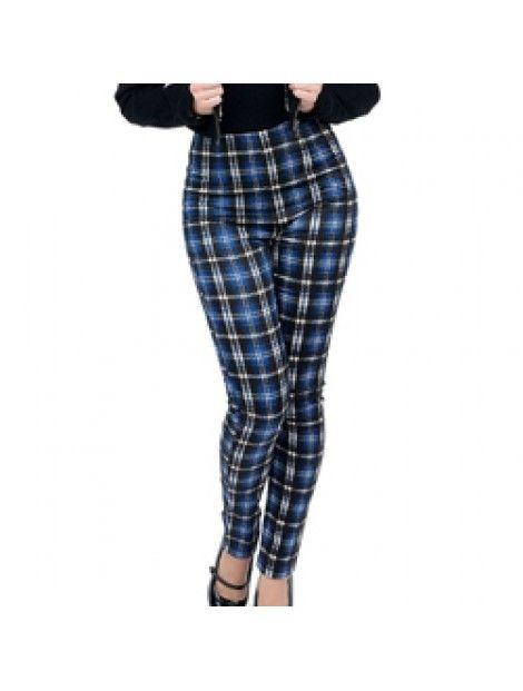 Midnight Blue Flannel Tights Wholesaler