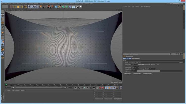 New in Cinema 4D Release 17 Quickstart: Lens Distortion Tool for Undistorting Wide Angle Footage