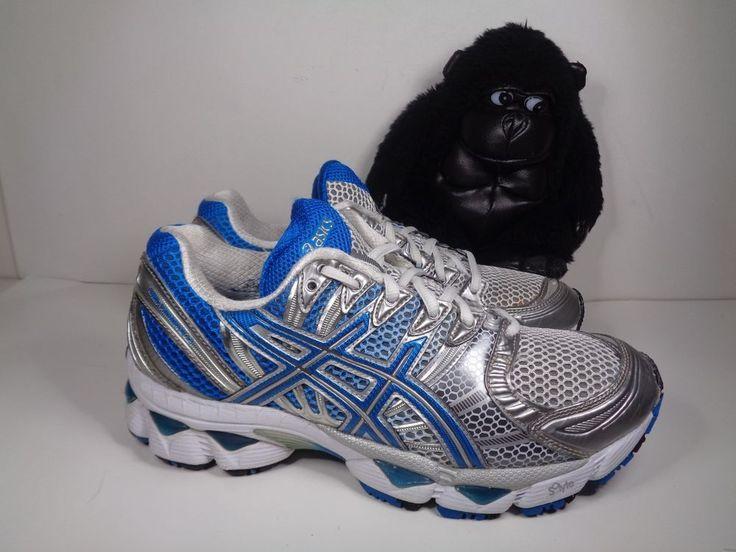 Womens Asics Gel Nimbus 12 Running Cross Training shoes size 8 US T095N #ASICS #RunningCrossTraining