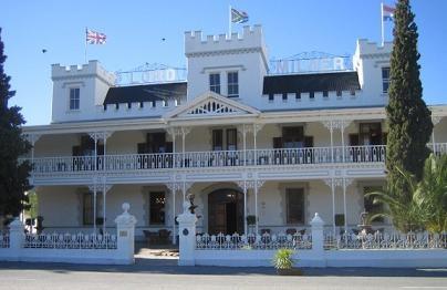 Wes Kaap Matjiesfontein hotel