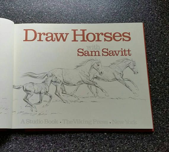 Learn How To Draw Horses Book | Best Drawing Book