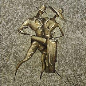 Картина Танец . Интерьерная живопись. Ковалев Сергей.