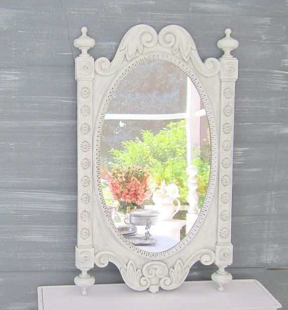 French Country Mirrors For Sale Shabby Chic Mirror Oval: large wooden mirrors for sale