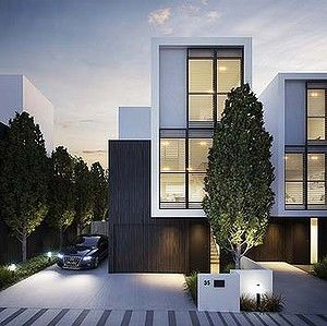 The 25 best modern townhouse ideas on pinterest modern for Modern townhouse design