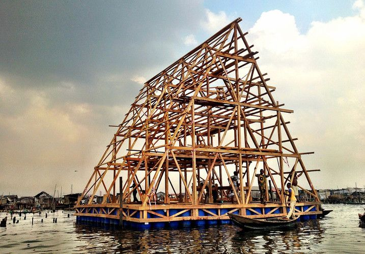 Escuela Flotante en Makoko / NLÉ Architects