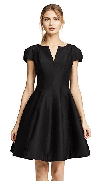 b86f66ecb6fc Notch Neck Tulip Dress   dresses   Tulip dress, Halston heritage ...