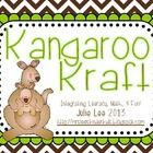 """This adorable little """"Kraft"""" is sure to have your students engaged while learning about kangaroos.  Patterns for kangaroo is included plus """"My kang..."""