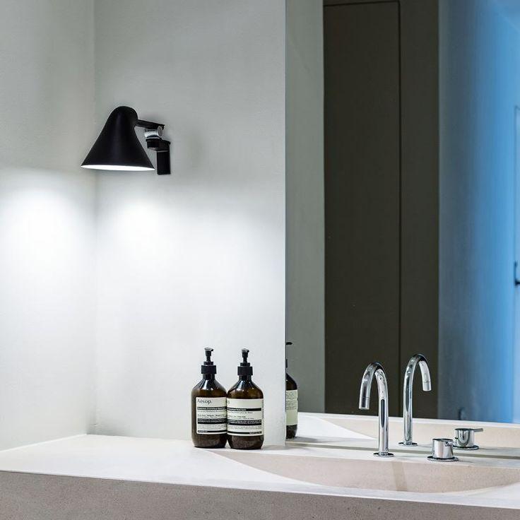 Louis Poulsen Njp. Vägglampan gör sig perfekt i ett genomtänkt och designat hem.