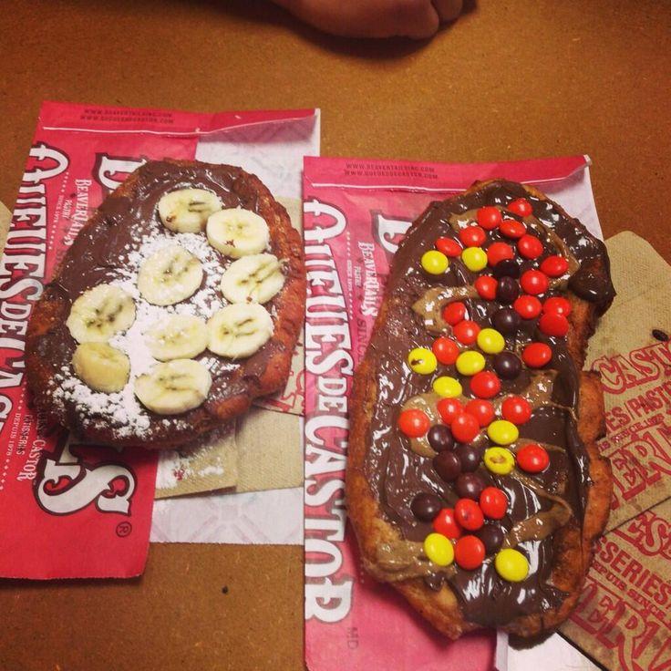 Double Chocolate? Double awesome. Twitter / AshleyBrookeXo: Mmmm beaver tail ...