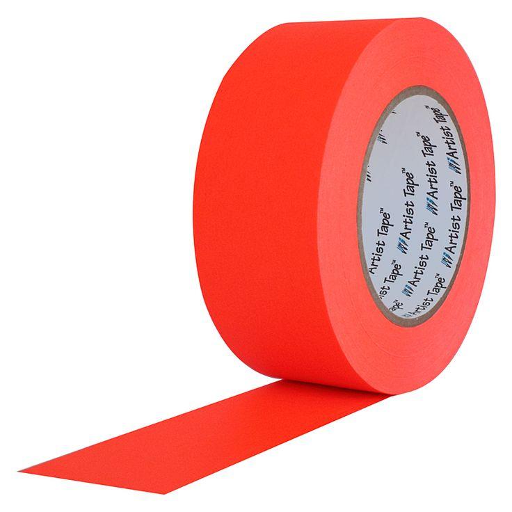Artist Tape Fluorescent Orange