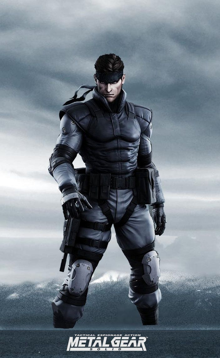 solid snake yo te banco metal gear
