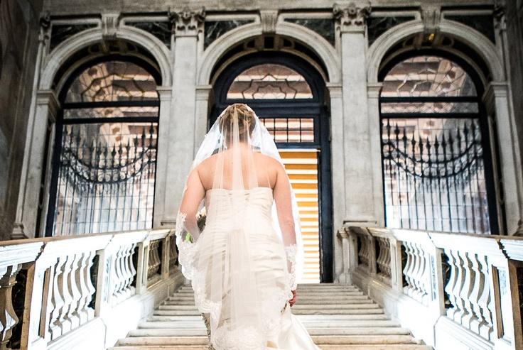 A wedding in a luxury hotel in Venice