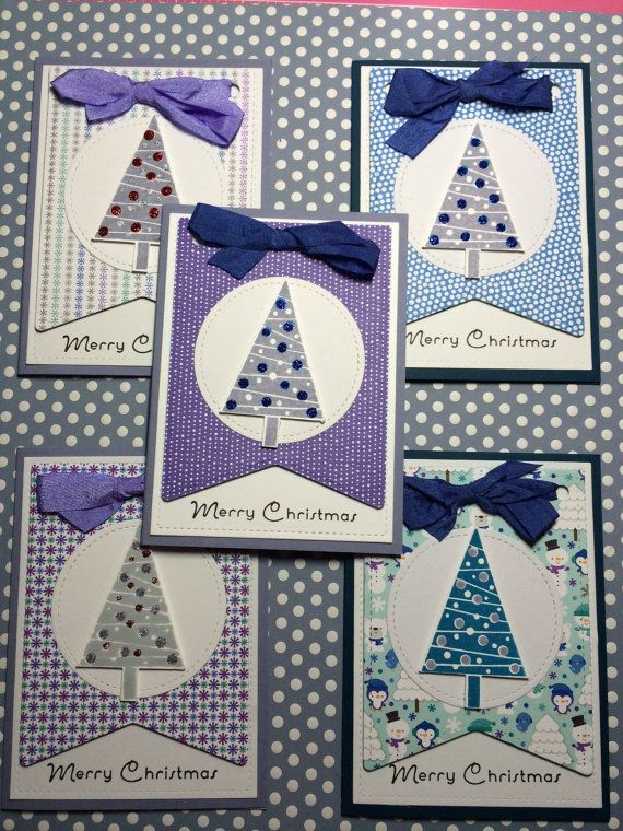 Merry Christmas cards made with Stampin Up Stamp by Killerscards