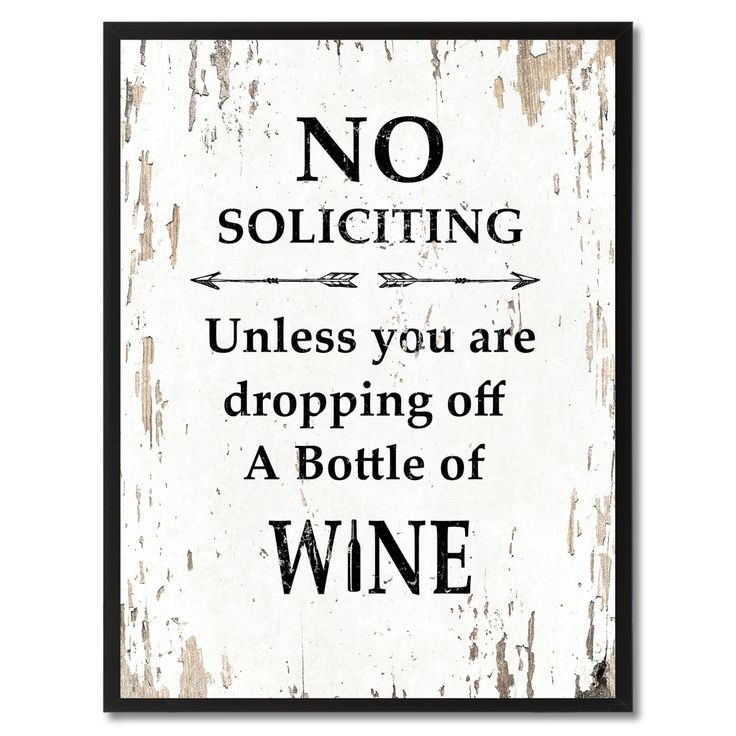 26 best No Soliciting! (Ideas for a sign) images on