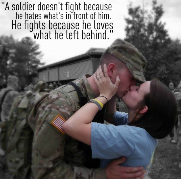 Best Military Love Quotes And Sayings Image HD: Cute Best