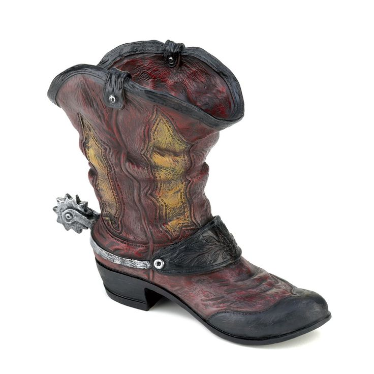 Spurred Cowboy Boot Planter Spurred Cowboy Boot Planter,Garden Planters and Indoor Planter,Decor,Novelties at Wholesale Prices [10015324] : Twin Ports, Decor, and Novelties, Decor and Novelties at Wholesale Prices, Decor, and Novelties, at Wholesale, Prices!
