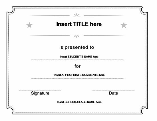 44 best Blank Certificate Templates images on Pinterest Award