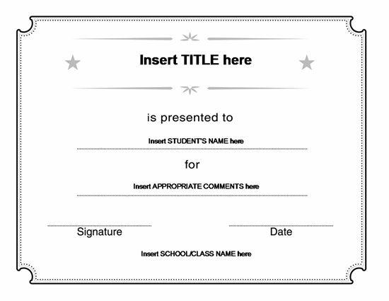 En Iyi 17 Fikir, Blank Certificate Pinterest'Te