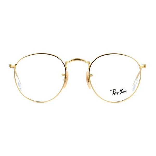 Ray Ban Metal RB 3447V 2730 Glasses | Pretavoir ❤ liked on Polyvore featuring accessories, eyewear, eyeglasses, glasses, sunglasses, ray ban eye glasses, lens glasses, ray-ban, ray ban eyewear and metal glasses