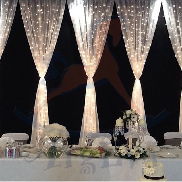 Cómo usar las guirnaldas y cortinas de luz de forma creativa